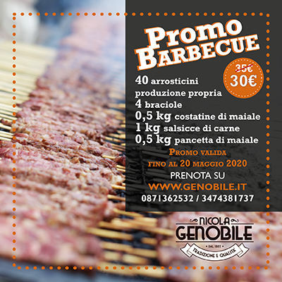 Promo barbecue Genobile