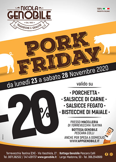 PORK FRIDAY 2020