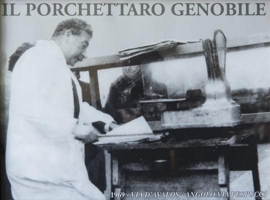 Foto Storica Genobile - il Porchettaro